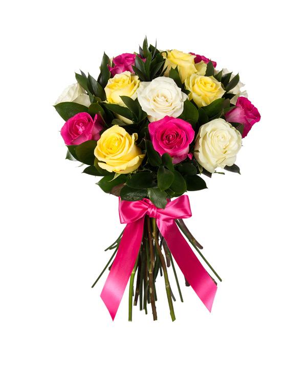 """Букет """"Ассорти из роз"""" от MEGAFLOWERS"""