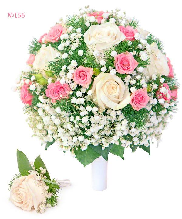 Букет невесты заказать в москве