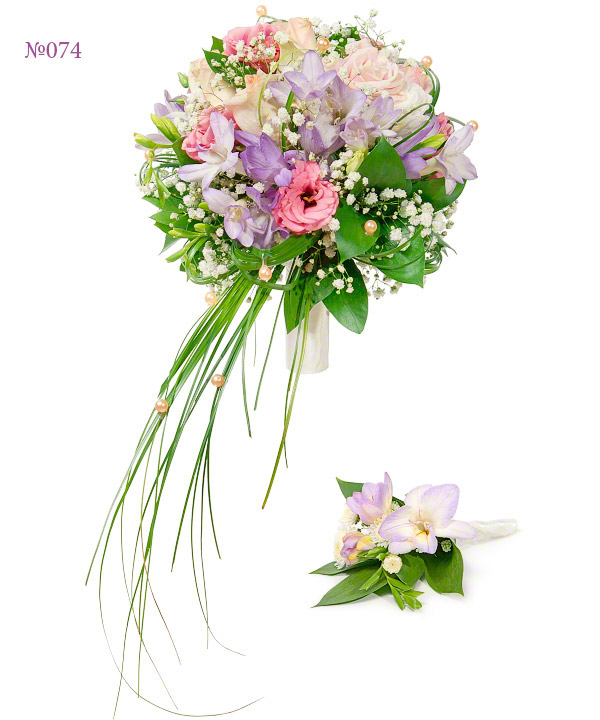 Цветы для невесты букет