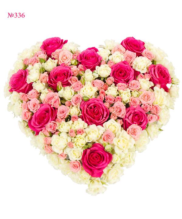 "Композиция ""Серенада розовых роз"" от MEGAFLOWERS"
