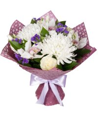 "Bouquet from цветов ""Fantastic Duet"" with delivery in Rostov-on-Don 35 - 40 см."