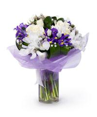"""Букет из цветов """"Морозная свежесть"""" с доставкой по Краснодару"""