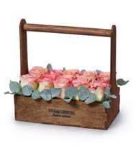 """Букет из розовых роз """"Ключ к сердцу"""" с доставкой по Белгороду"""