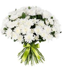 """Букет из цветов """"Белый ангел"""" с доставкой по Калининграду 50 - 35 см."""