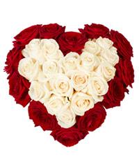 """Букет из роз Гран-При """"Мое сердце – тебе"""" с доставкой по Калининграду"""