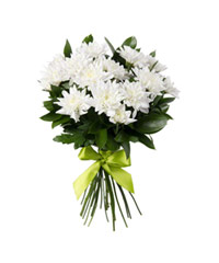 """Букет из цветов """"Белый ангел"""" с доставкой по Калининграду 20 - 35 см."""
