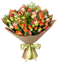 "Bouquet from цветов ""Prima Donna"" with delivery in Rostov-on-Don 30 - 40 см."
