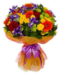 """Букет из цветов """"Тридевятое царство"""" с доставкой по Краснодару 30 - 35 см."""