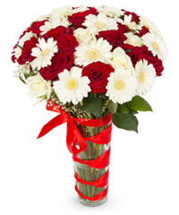 "Bouquet from цветов ""Beatrice"" with delivery in Novosibirsk 35 - 45 см."