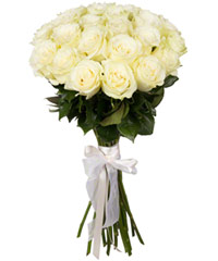 "Bouquet from цветов ""White Foam "" with delivery in Rostov-on-Don 35 - 60 см."