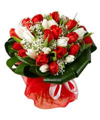 """Букет из цветов """"Мадригал"""" с доставкой по Калининграду 30 - 35 см."""