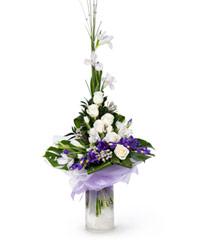 """Букет из цветов """"Морозная свежесть"""" с доставкой по Туле"""