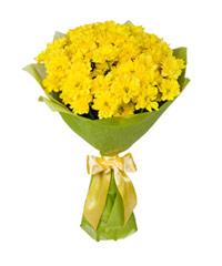 """Букет из цветов """"Букет из хризантем """" с доставкой по Калининграду 30 - 45 см."""