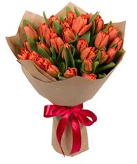 """Композиция """"Весенние тюльпаны"""" с доставкой по Белгороду"""
