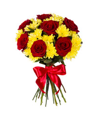 "Bouquet from цветов ""Rubies in Amber"" with delivery in Rostov-on-Don 20 - 30 см."