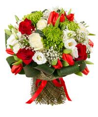 """Букет из цветов """"Утренняя роса"""" с доставкой по Новосибирску"""