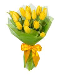 """Букет из цветов """"Весенние тюльпаны"""" с доставкой по Белгороду 18 - 30 см."""