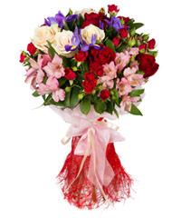 """Букет из цветов """"Розовый флёр"""" с доставкой по Туле"""
