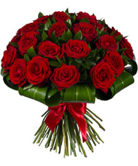 "Bouquet from цветов ""Royal Crown"" with delivery in Novosibirsk 40 - 40 см."