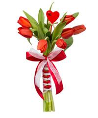 """Букет из цветов """"Комильфо"""" с доставкой по Калининграду 10 - 30 см."""