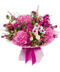 """Букет из цветов """"Моя прекрасная мисс"""" с доставкой по Казани 45 - 30 см."""