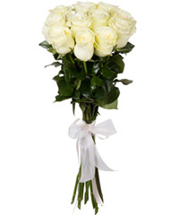 "Bouquet from цветов ""White Foam "" with delivery in Rostov-on-Don 20 - 60 см."