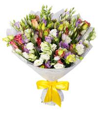 """Букет из цветов """"Брызги шампанского"""" с доставкой по Калининграду 40 - 40 см."""
