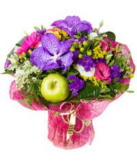 """Букет из цветов """"Песенный сад"""" с доставкой по Новосибирску"""