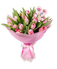 """Букет из цветов """"Ты у меня одна…"""" с доставкой по Калининграду 30 - 35 см."""