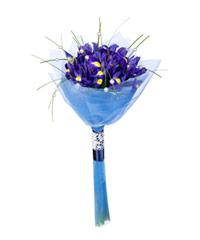 """Букет из цветов """"Рапсодия в стиле блюз"""" с доставкой по Калининграду 15 - 40 см."""