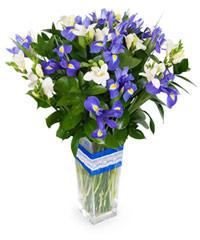 """Букет из цветов """"Джоконда"""" с доставкой по Новосибирску"""
