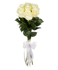 "Bouquet from цветов ""White Foam "" with delivery in Rostov-on-Don 15 - 60 см."