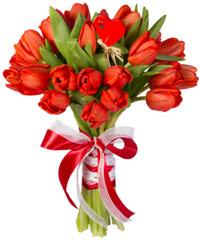"""Букет из цветов """"Комильфо"""" с доставкой по Калининграду 20 - 30 см."""