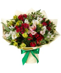 "Bouquet from цветов ""Warm Feelings"" with delivery in Rostov-on-Don 35 - 35 см."