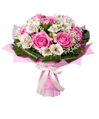 "Bouquet from цветов ""Entr'acte"" with delivery in Novosibirsk 25 - 35 см."