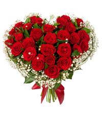 """Сердце из роз """"Только для тебя"""" с доставкой по Казани"""