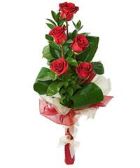 """Букет из цветов """"Леди Гамильтон"""" с доставкой по Белгороду 15 - 50 см."""