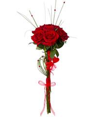 "Букет из роз Гран-При ""Любил. Люблю. Люби́м"" с доставкой по Калининграду"
