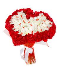 """Букет из цветов """"Зарождение огня"""" с доставкой по Белгороду 25 - 30 см."""
