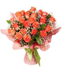 Купить букет из 25 роз с доставкой по Новосибирску